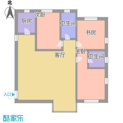 申银发展大厦1405户型图