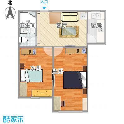 68两室一厅