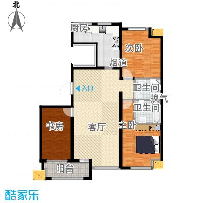 蓝海嘉苑138.69㎡A户型