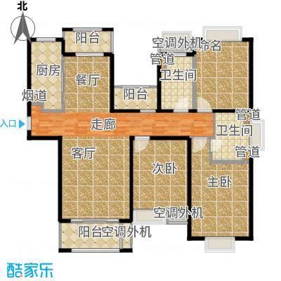 合生国际花园142.00㎡一期56、61、65#楼高层B户型-副本