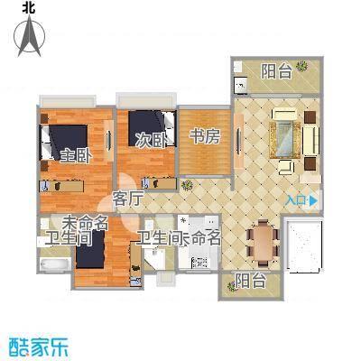 嘉宏公园1号6栋201设计图