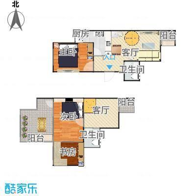 顶层跃层两室一厅-20150406