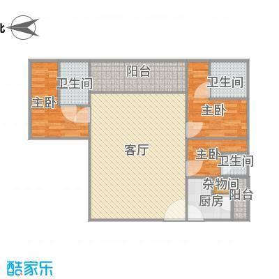 华发新城二期185平方03户型
