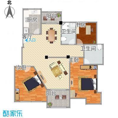 变形型3室2厅-小书房