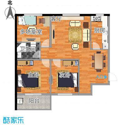 D1三室一厅-副本