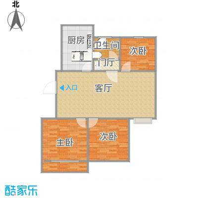 3室一厅106平-副本