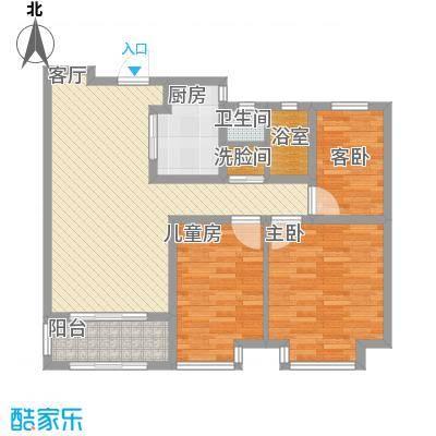 94平三室两厅一卫-副本