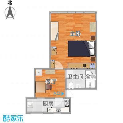 45方一室一厅