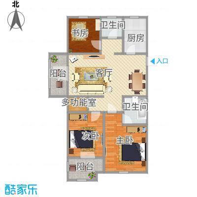 重庆-金色蓝庭-设计方案