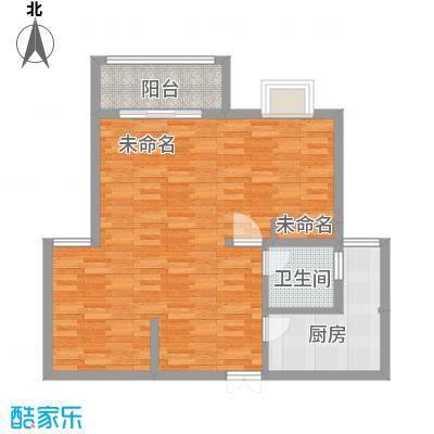 城改蜀湖湾125.25㎡户型2室2厅1卫 - 副本-副本-副本