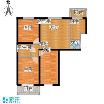 文馨花园91.40㎡S21面积9140m户型-副本