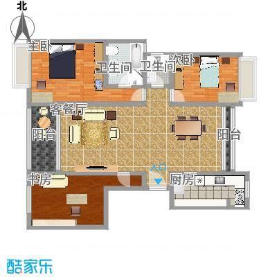 御沁园公寓160平三室两厅-副本