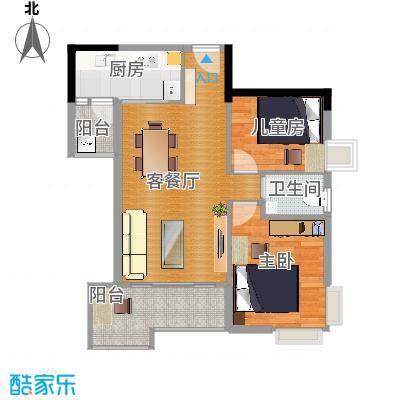 78平米小户型-0426-9-18