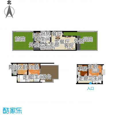 张豪园别墅-设计方案