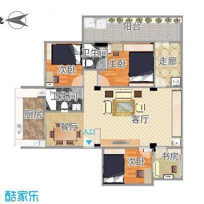 广州-富丽家园-设计方案