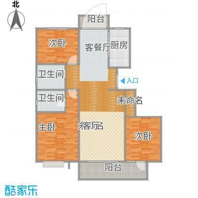 荣盛华府132平3室2厅2卫