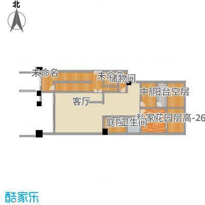 珠江郦城璞墅224平一层
