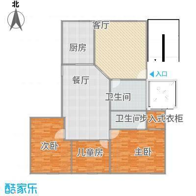东方国际村3室2厅1厨2卫1阳台-副本