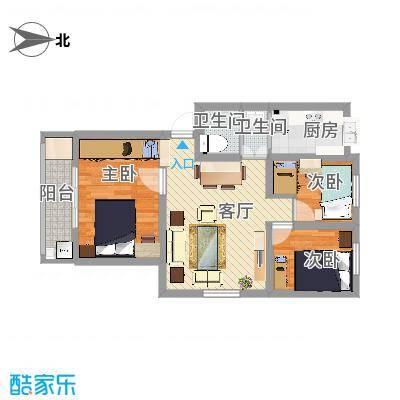 营苑新寓75平方米-副本-副本