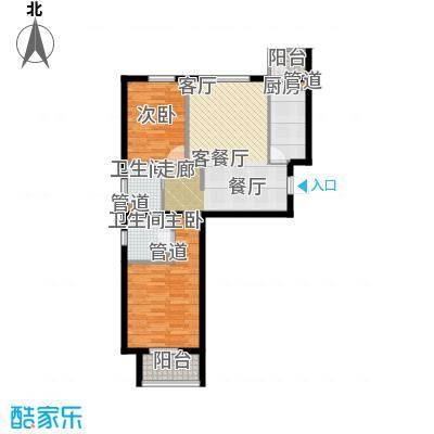 奥特锦鸿嘉苑2居室2户型-副本
