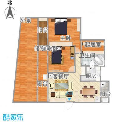 1楼2室2厅2卫3阳台-cc