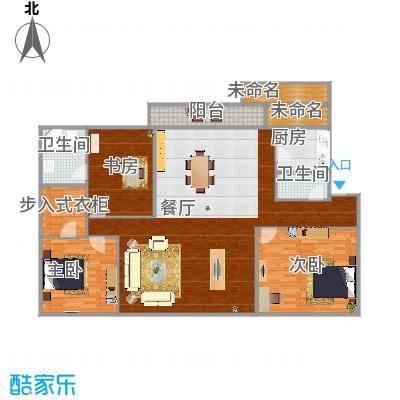 大庆-明湖花园-设计方案