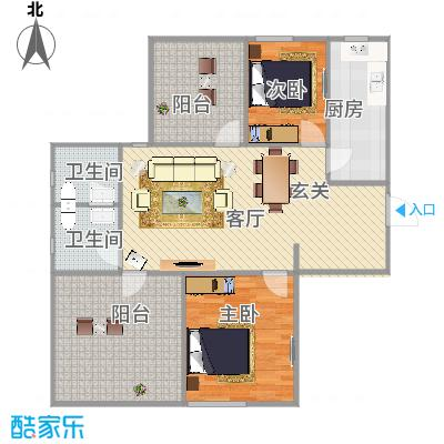 94平两室两厅 - 副本-副本