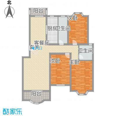 上海新城14.00㎡户型