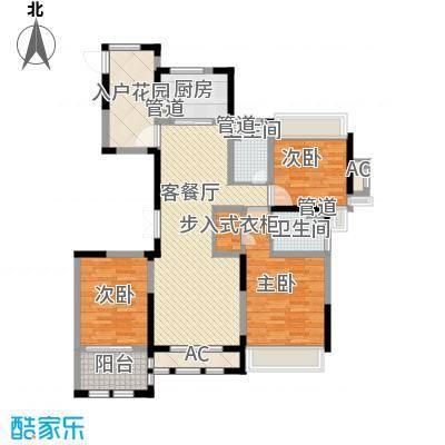 奥体新城14.00㎡6#、10#、11#楼C3户型3室2厅2卫1厨