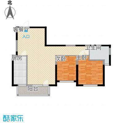 晏园玖珑城115.00㎡户型