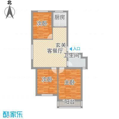 怡沁园户型3室1厅1卫1厨