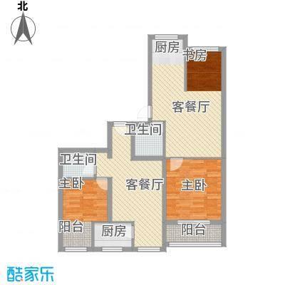 隆苑丽舍4.00㎡户型1室2厅1卫1厨
