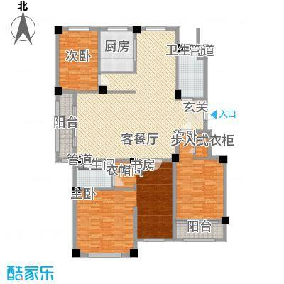 康乐家园户型5室2厅2卫1厨