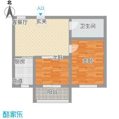 如意花园72.81㎡户型