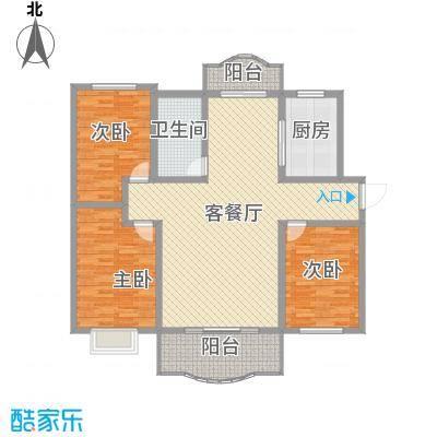 万华紫金花苑户型