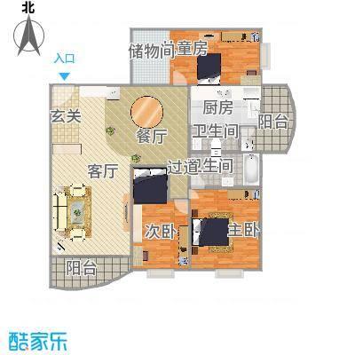 标准3房2厅2卫