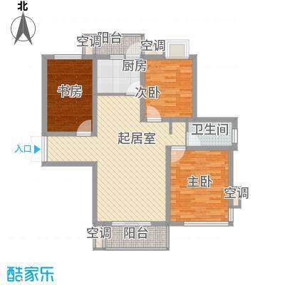 鑫盛・公园1号112.00㎡D户型3室2厅1卫1厨