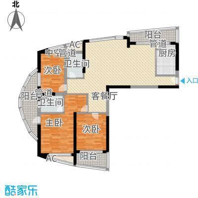 南通中央商务区143.00㎡A1户型3室2厅2卫
