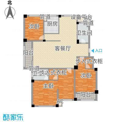 滨海龙城户型5室2厅2卫1厨
