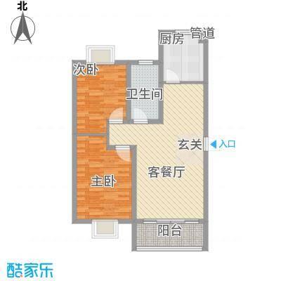 怡沁园3211户型3室2厅1卫1厨