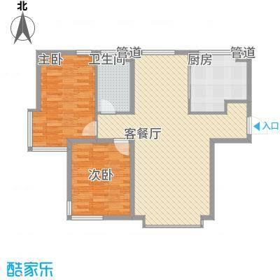 海门富民新村3221户型3室2厅2卫1厨