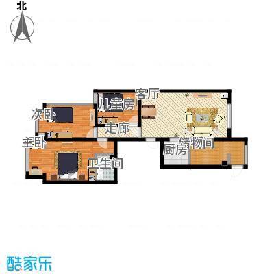泛华1号楼三室两厅