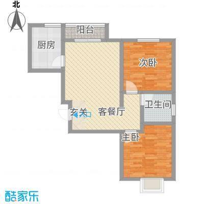 白河涧公寓186.00㎡户型2室1厅1卫1厨