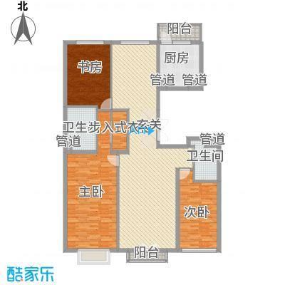 北京尊府185.00㎡�A户型3室2厅2卫1厨