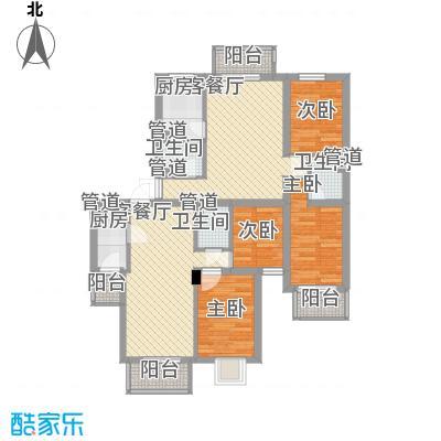 日光清城11.00㎡1、8、9#DE户型