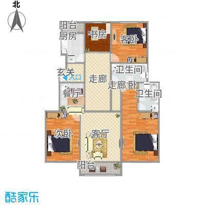 通州-北苑145号院-设计方案