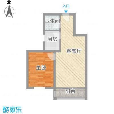 新景家园户型1室