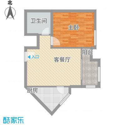 星河城三期户型1室