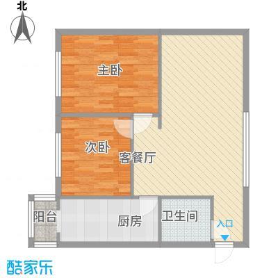 天通苑西二区户型2室