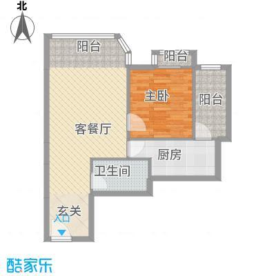望京合生麒麟社户型1室